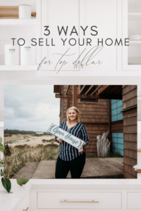 3 ways to sell for top dollar